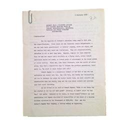 Collier's Magazine Howard Hughes Handwritten Revisions