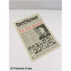 Inglorious Basterds Sgt. Hugo Stiglitz (Til Schweiger) Newspaper Movie Props