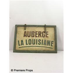 Inglorious Basterds Auberge La Lousiane Sign Movie Props