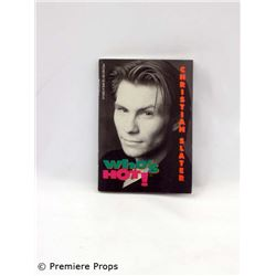 "Paperback copy of ""Who's Hot: Christian Slater"""