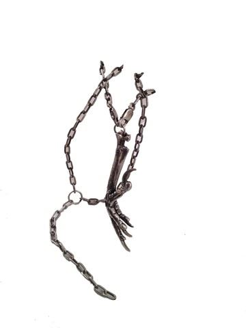 Underworld: Awakening Coven Character Claw Necklace Movie Props