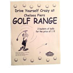 SERENDIPITY Golf Range Flyers Movie Props