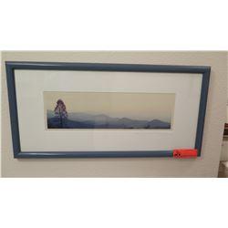 """Framed Original Photo, Gene Taylor, Original Signature, 25"""" X 12.5"""""""