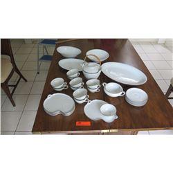 Noritake China Tea and Serving Set, Bowls, Platters, etc.