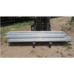 Large Lot of Metal Piping - Various Sizes