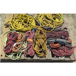 Large Lot of Industrial Extension Cords
