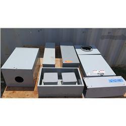 Cooper B-Line  Rainproof Type R Meter Socket and Various Metal Casings