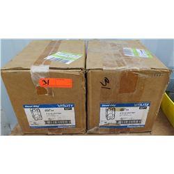 Qty 2 Steel City Utility Box Model 58361