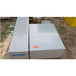 Qty 4 Large Electrical Boxes