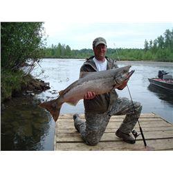 Six Day/Five Night Alaskan Fishing Trip for One Angler