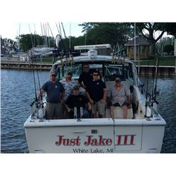 Lake Erie fishing charter for 4 people