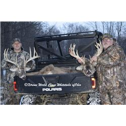 "Ohio Whitetail hunt for two hunters for 180""-200"".  $2000 credit total on each deer"