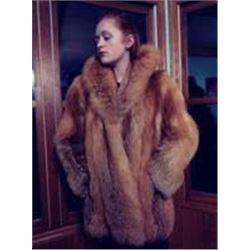 Natural Red Fox Jacket