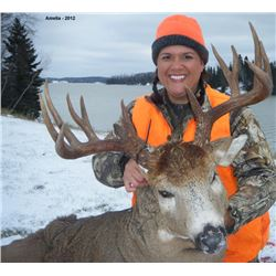7 day Ontario Muzzleloader Whitetail hunt for two hunters