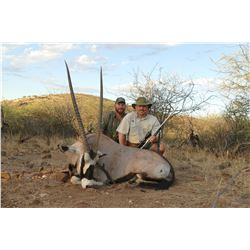 IMMENHOF: 5-Day Plains Game Safari for Two Hunters and Two Non-Hunters in Namibia - Includes Trophy