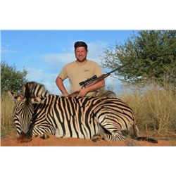 QUATRO: 4-Day Zebra and Blesbok Hunt for Two Hunters in Namibia - Includes Trophy Fees