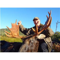 ARLUK: 7-Day Newfoundland Moose and Black Bear Hunt for One Hunter in Canada - Includes Trophy Fees