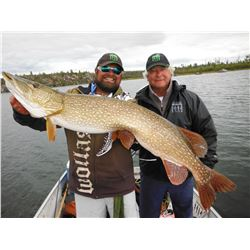 WOLLASTON LAKE: 4-Day Freshwater Fishing Trip for Two Anglers in Northern Canada