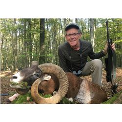 SAFARI INTERNATIONAL: 5-Day Mouflon Hunt for One Hunter and One Non-Hunter in Macedonia