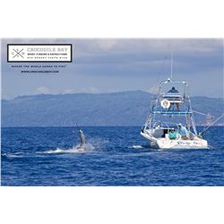 CROCODILE BAY: 5-Day/5-Night Tower Boat Fishing Getaway for Two Anglers in Costa Rica