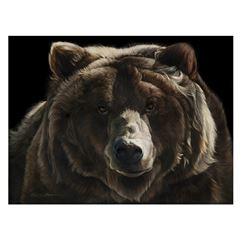 MAXWELL'S ART:  Be Bear Aware  - Artist Proof Giclee by Sally Maxwell