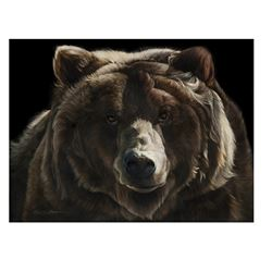 "MAXWELL'S ART: ""Be Bear Aware"" - Artist Proof Giclee by Sally Maxwell"