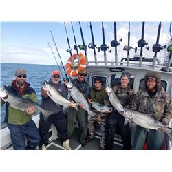 ALASKA SEASCAPE: 4-Day/5-Night Fishing Package for Four Anglers in Alaska