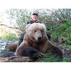 MIKE ODIN'S ALASKA: 9-Day Coastal Brown Bear Hunt for One Hunter in Alaska