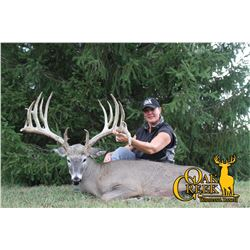 OAK CREEK: 3-Day Whitetail Hunt for One Hunter and One Non-Hunter in Missouri - Includes Trophy Fee