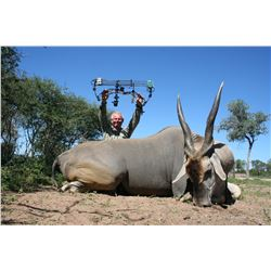 DRIES VISSER: 10-Day Plains Game BOW Safari for Two Hunters and Two Non-Hunters in South Africa