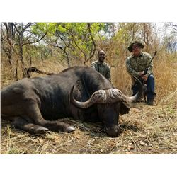 MWATISI: 10-Day Cape Buffalo and Plains Game Hunt for One Hunter in Tanzania