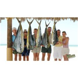 MEXICO HUNTS: 4-Day/3-Night El Carmen Island Fishing Trip for Four Anglers in Mexico