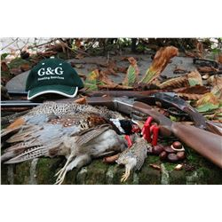 G& G HUNTING: 2-Day Pheasant and Red Partridge Wingshooting Driven Hunt for Four Hunters in Italy
