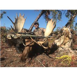 GARRETT BROS: Fly-In Moose Hunt for One Hunter in Alberta, Canada - Includes Trophy Fee