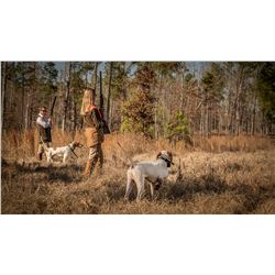 FAMILY EXPEDITIONS: 1-Day/2-Night Quail Hunt for Six Hunters in Alabama - Includes Unlimited Fishing