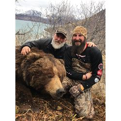 H&H: 10-Day Kodiak Brown Bear Hunt for One Hunter in Alaska - Includes Trophy Fee