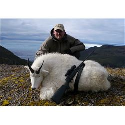 FEJES GUIDE: 5-Day Mountain Goat Hunt for One Hunter in Cordova, Alaska - Includes Trophy Fee