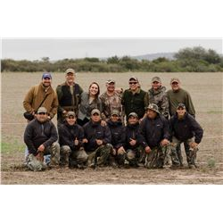DAVID DENIES: 3-Day High Volume Dove Hunt for Eight (8) Hunters in Argentina