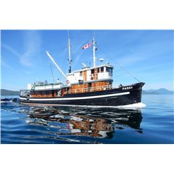 BC OUTDOOR: 7-Day/6-Night Luxury Wilderness Fishing Adventure for Two Anglers on BC's Inside Passage