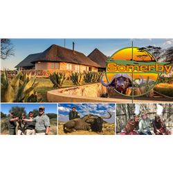 SOMERBY: 12-Day Plains Game/Wingshooting Safari for Two Couples in South Africa - Includes Trophies