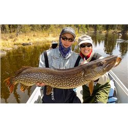 NORTH HAVEN: 4-Day Fishing Trip for Two Anglers in Manitoba, Canada