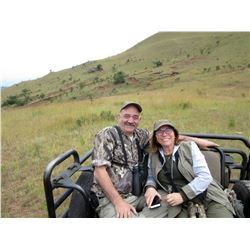 THORMAHLEN SAFARIS: 8-Day Plains Game Safari for Two Hunters and Two Non-Hunters in South Africa