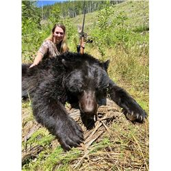 CANADIAN GUIDE: 5-Day Vancouver Island Black Bear Hunt for One Hunter/One Non-Hunter in Canada