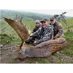 JIM GIBSON: 5-Day Red Stag and Fallow Buck Hunt for One Hunter/One Non-Hunter in New Zealand