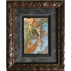"""SHERRY STEELE: """"Beside Still Water"""" - Original Artwork by Sherry Steele"""