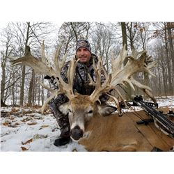 X-FACTOR: 3-Day Whitetail Deer Hunt for One Hunter and One Non-Hunter in Indiana - Includes Trophy F