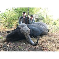 CHARLTON MCCALLUM: 10-Day Cape Buffalo and Plains Game Hunt for One Hunter and One Non-Hunter in Dan