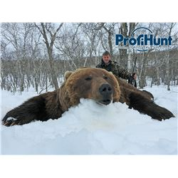 PROFIHUNT: 9-Day Kamchatka Brown Bear Hunt for One Hunter in Russia - Includes Trophy Fee