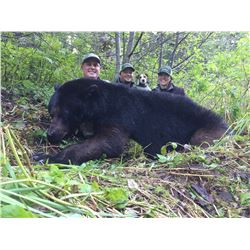 GLACIER GUIDES: 6-Day Luxury Yacht Coastal Black Bear Hunt for One Hunter in Alaska
