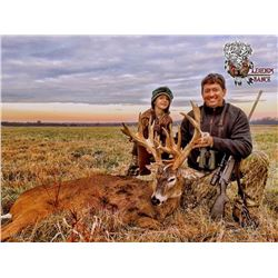 LEGENDS RANCH: 5-Day Whitetail Hunt for One Hunter and One Non-Hunter in Michigan - Includes Trophy